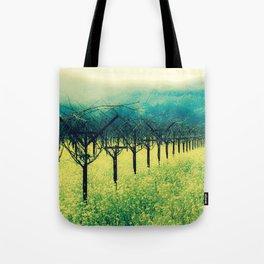 Winter Vineyard I - Serenity Tote Bag