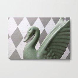 Green Bird Metal Print