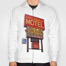 Nostalgic motel sign Hoody