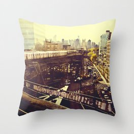 Queens Row Throw Pillow