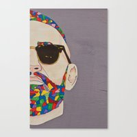grafitti Canvas Prints featuring grafitti art by Kristina Jovanova