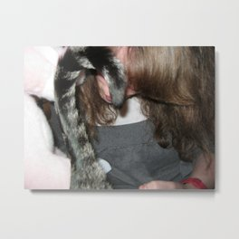 Rocco's Tail and Mama's Hair Metal Print