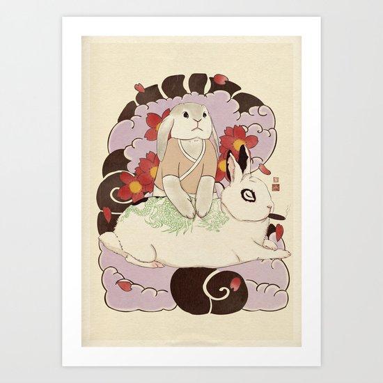 Master and Servant Art Print