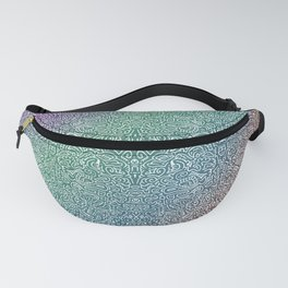 pointy gradient pattern Fanny Pack