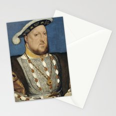Portrait of Henry VIII of England by Hans Holbein Stationery Cards