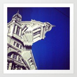 Clock Tower, Sheffield (3) Art Print