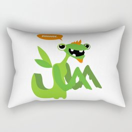Grasshopper - Dude. Rectangular Pillow