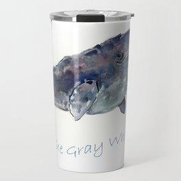 Gray Whale Travel Mug
