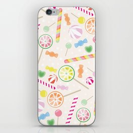 Candys texture iPhone Skin
