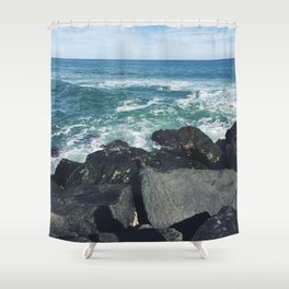 Jersey Shore Jetty Shower Curtain