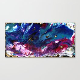 Brendon Urie abstract synesthetic painting Canvas Print