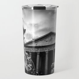 Clouds Over The Pantheon Travel Mug
