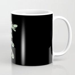 Bomber Dropping Bombs Coffee Mug