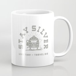 """Stay Silver"" Retro Type (1 color) Coffee Mug"