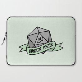 Dungeon Master D20 Laptop Sleeve