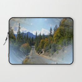 Which road shall I take? Laptop Sleeve
