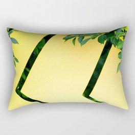 Lemon And Leaves Avant-Garde Contemporary Design Rectangular Pillow