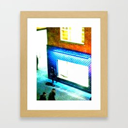 Busker Framed Art Print