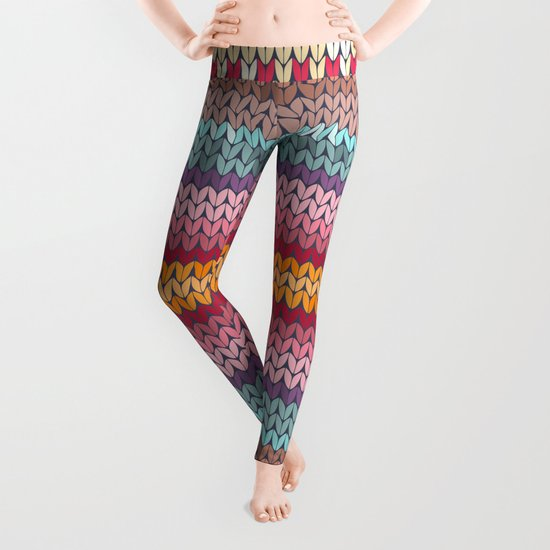 Tights Knitting Pattern : knitting pattern Leggings by SEAFOAM12 Society6