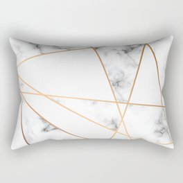 Marble Geometry 054 Rectangular Pillow