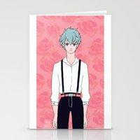 kuroko Stationery Cards featuring Kuroko by Liyu