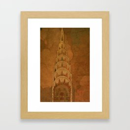 Empire - Chrysler Framed Art Print
