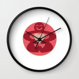 Circle Love Wall Clock