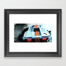 PORSCHE 917 K Le Mans Framed Art Print
