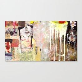 The Work Canvas Print