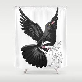 Black Dove (Black Lives Matter Fundraiser) Shower Curtain
