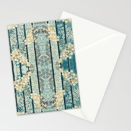 Lilacs & Phylox in Stripe By Danae Anastasiou Stationery Cards