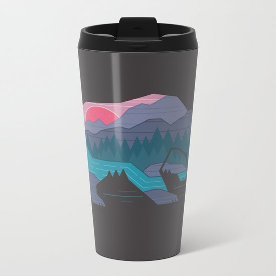 Bear Country Metal Travel Mug
