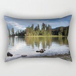 Time to Reflect Rectangular Pillow
