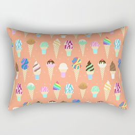 Stardust Sorbet Rectangular Pillow