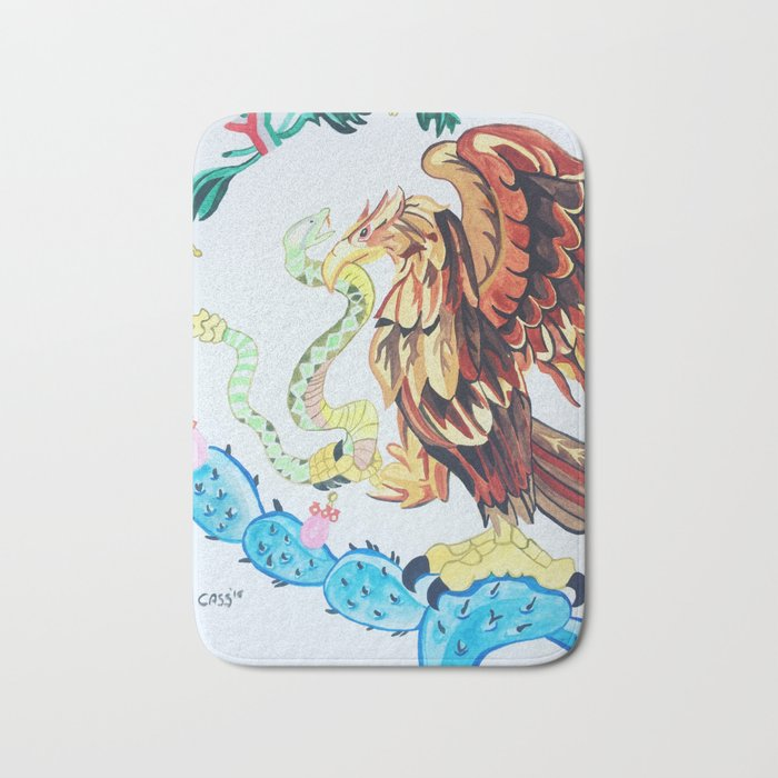 The Wings of Mexico Bath Mat