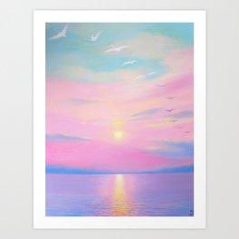 """Open Sea"" Art Print"