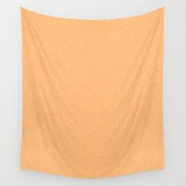 Dense Melange - White and Orange Wall Tapestry