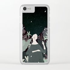 sleepiness Clear iPhone Case