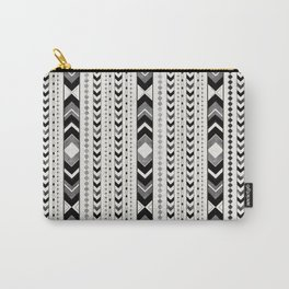 Tribal Arrow Boho Pattern #5 #aztec #decor #art #society6 Carry-All Pouch