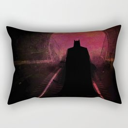 Bat-man: The dark hero Rectangular Pillow