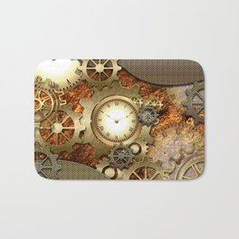 Steampunk Bath Mat