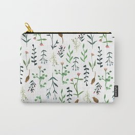 Flower stem pattern Carry-All Pouch