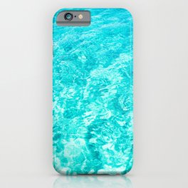 Crystal Clear Sea Water iPhone Case