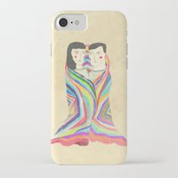 blanket iPhone & iPod Cases featuring blanket by lazy albino