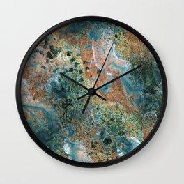 Surf, Sand, and Sea Wall Clock