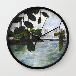 Acrylic Landscape Wall Clock
