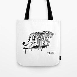 Tiger Skin Tote Bag