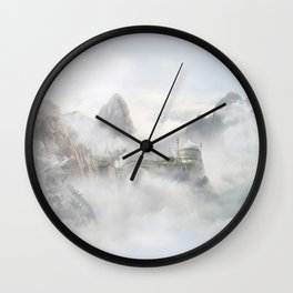 Palace of the Sky Dragons Wall Clock