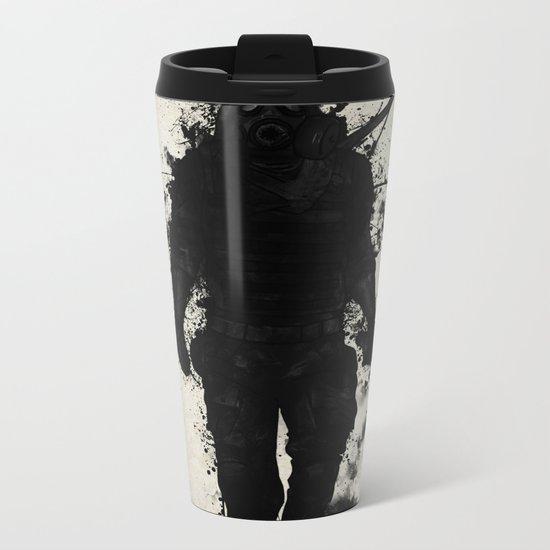 Apocalypse Hunter Metal Travel Mug