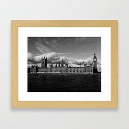 Kingdom for the Clouds Framed Art Print
